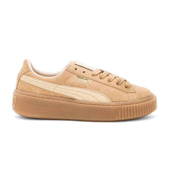 Suede Platform Sneakers   Poshmark